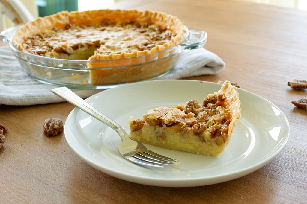 P. Allen Smith's Buttermilk Pecan Pie