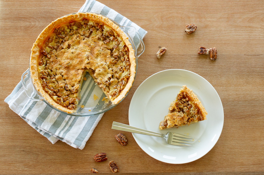 P. Allen Smith's Buttermilk Pecan Pie